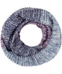 Barts Loop-Schal mit Blockstreifen in Melangeoptik