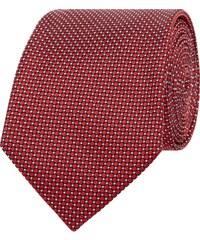 Boss Krawatte aus Seide mit Wabenmuster