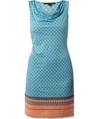 comma Kleid mit ornamentalem Muster