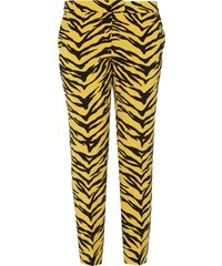 Boutique Moschino Stoffhose mit Tigermuster