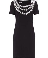 Boutique Moschino Kleid mit Perlenketten-Print