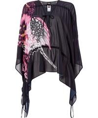 Just Cavalli Blusenshirt aus Seide mit Stretch-Anteil