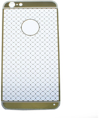Pouzdro Frist Apple iPhone 6 Plus gumový zlatý vzor KT0018-0211