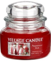 Village Candle Svíčka ve skle Peppermint Stick - malá