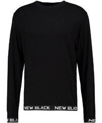 New Black SMASH CREW Langarmshirt black