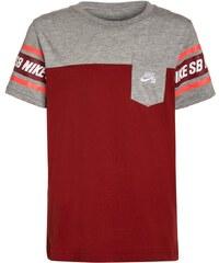 Nike SB HERITAGE TShirt print dark cayenne
