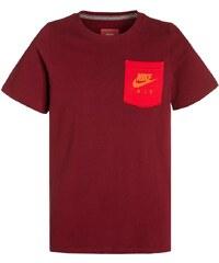 Nike Performance AIR HYBRID TShirt print team red/university red/carbon heather/total orange