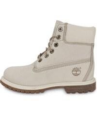 Timberland Boots 6-inch Premium Boots Off White Femme