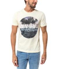 Jack & Jones Tee-shirt T-shirt Roll In Jaune Pâle Homme