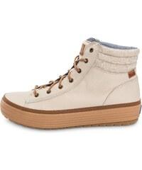 Keds Baskets/Streetwear/Boots High Rise Leather Wool Beige Femme