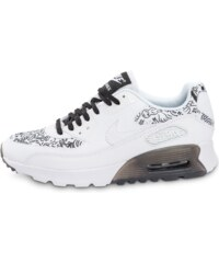 Nike Baskets/Running Air Max 90 Ultra Print Blanche Steven Harrington Femme