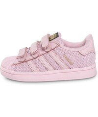 adidas Baskets/Tennis Superstar Nylon Bébé Rose Bébé