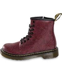 3ffb00c026f70 Dr Martens Boots Delaney Viper Enfant Bordeaux Enfant