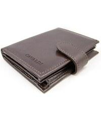Cavaldi Pánská peněženka s přezkou hnědá