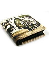 Golunski Malá kožená retro peněženka
