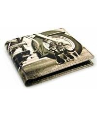 Golunski Malá retro kožená peněženka