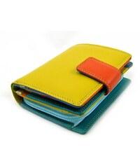 Golunski Kožená barevná luxusní peněženka