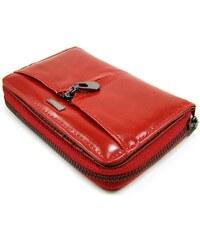 Loren Dámská kožená peněženka červená