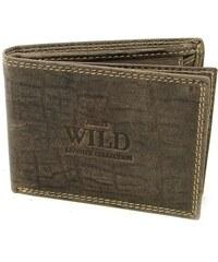 Always Wild Pánská kožená malá peněženka
