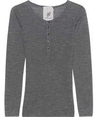 FRIENDLY HUNTING Shirt Attender Henley Medium Grey Melange