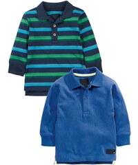 Next 2 PACK Poloshirt blue