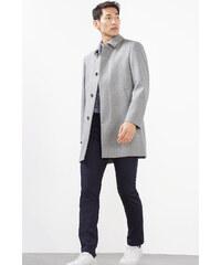 Esprit Pantalon en coton stretch texturé