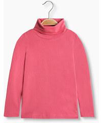 Esprit T-shirt col roulé manches longues coton bio