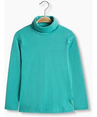 Esprit T-shirt à col roulé en coton bio