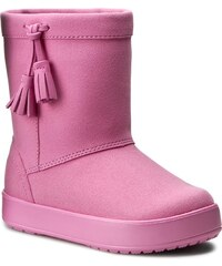 Boty CROCS - Lodgepoint Boot K 203751 Party Pink