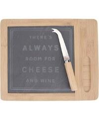 Prkénko a nůž na sýr CGB