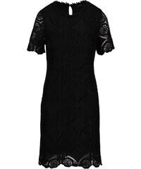 Černé krajkované šaty VILA Rasmi