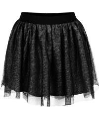 Černá žíhaná holčičí tylová sukně name it Watina