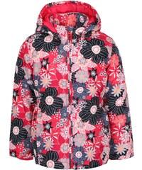 Růžová holčičí bunda s potiskem květin name it Mello