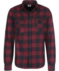 Lee Western Langarmhemd dark red