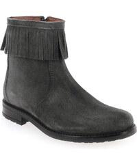 Boots Enfant fille Bellamy en Cuir velours Gris