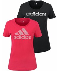 ADIDAS PERFORMANCE T Shirt BRANDING 2 PACK TEES