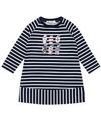Sense Organics Mädchen Nicoline Sweat Kleid aus Bio-Baumwolle Gots-Zertifiziert