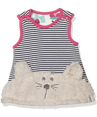 Lilly and Sid Baby-Mädchen Kleid Bunny Face Reversible Pinafore