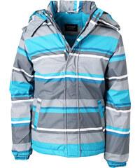 NICKEL SPORTSWEAR Voděodolná zimní bunda 'Pruhy' 68050