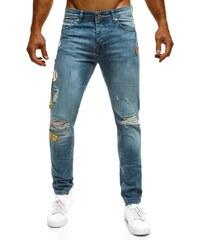 Otantik Moderní propracované pánské džíny OTANTIK 379