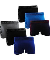 Lesara Lot de 6 boxers avec logo imprimé