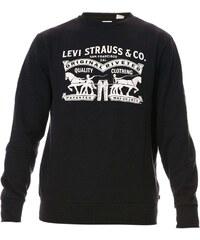 Levi's Fleece Graphic - Sweat-shirt - noir