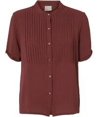 Vero Moda Bluse - schokaladenfarben