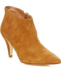 Ikks shoes Bottine en cuir suédé - camel