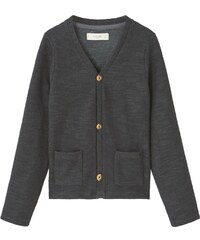Mango EMILIO Gilet dark heather grey