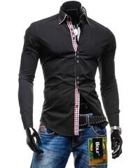 2068529be5b Pánská košile BOLF 0926 černá