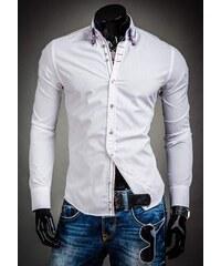 Pánská košile BOLF 3701 bílá 4489295611