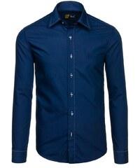 ef076a6221f Pánská košile BOLF 4719 tmavě modrá