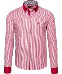 76ac48252ef Pánská košile BOLF 5795 červená