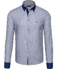 Pánská košile BOLF 5795 tmavě modrá bad4826f44